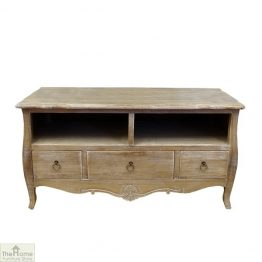 Casamoré Bordeaux 3 Drawer 2 Shelf TV Unit