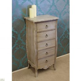 Casamoré Bordeaux 5 Drawer Tallboy_1