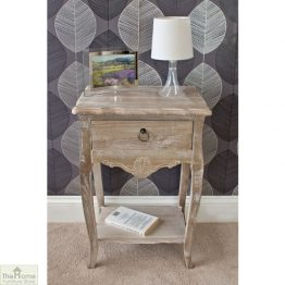 Casamoré Bordeaux 1 drawer lamp table_1