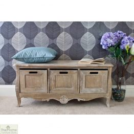 Bordeaux 3 Drawer Storage Bench_1
