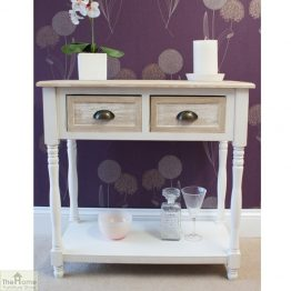 Cotswold 2 Drawer Console Table_1