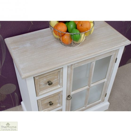 Cotswold Glass Door 3 Drawer Unit_4