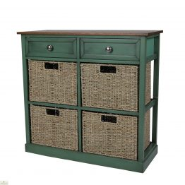 Country Cottage 6 Drawer Storage Chest