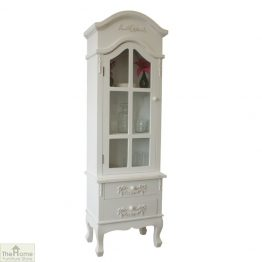 Limoges 2 Drawer Display Cabinet