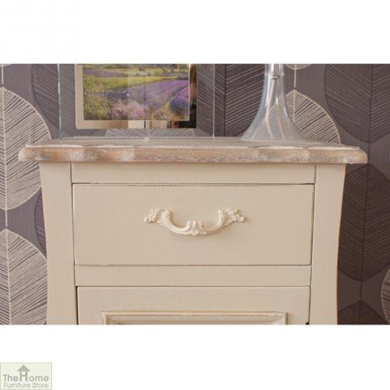 Devon Shabby Chic Bedside Table 1 Door 1 Drawer_2