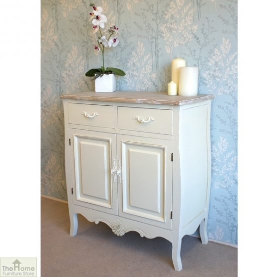 Devon Shabby Chic 2 Drawer 2 Door Sideboard_3
