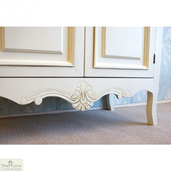Devon Shabby Chic 2 Drawer 2 Door Sideboard_5