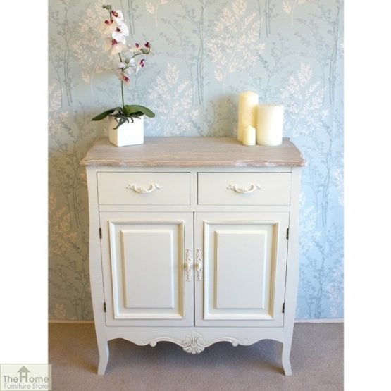 Devon Shabby Chic 2 Drawer 2 Door Sideboard_2