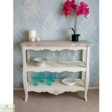 Devon Shabby Chic 2 Shelf Console Table