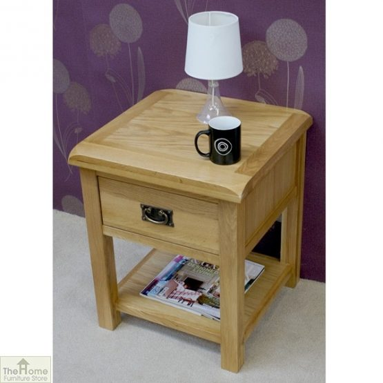 Farmhouse 1 Drawer Lamp Table_2