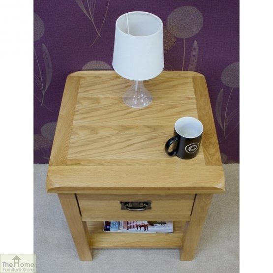 Farmhouse 1 Drawer Lamp Table_5