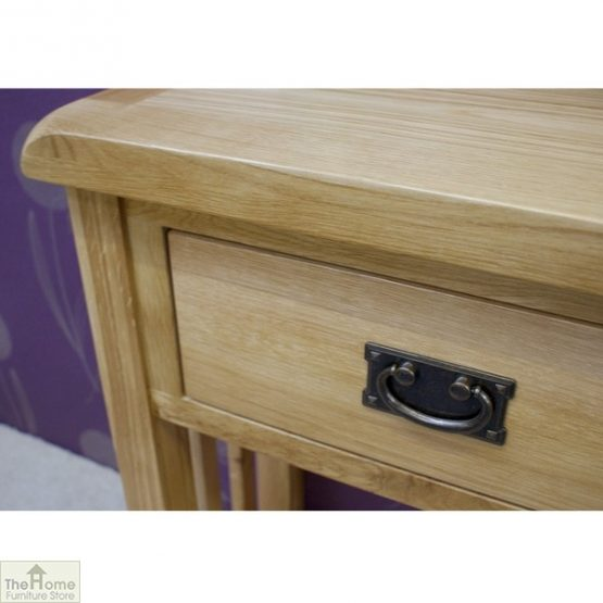 Farmhouse 1 Drawer Telephone Table_6