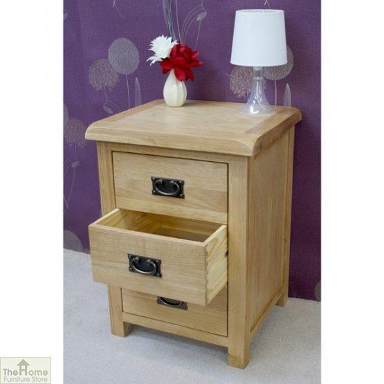 Farmhouse 3 Drawer Bedside Cabinet_4