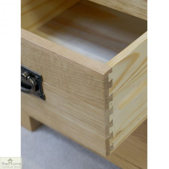 Farmhouse 3 Drawer Bedside Cabinet_7
