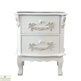 Limoges 2 Drawer Bedside Unit