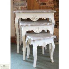 Devon Shabby Chic Nest of Tables