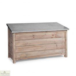 Outdoor Wooden Storage Box Unit