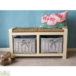Selsey Wicker 2 Seater Storage Bench_1
