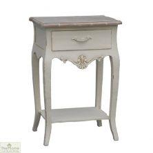 Devon Shabby Chic 1 Drawer Lamp Table