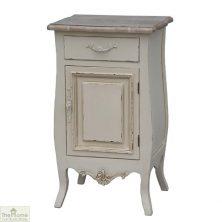 Devon Shabby Chic Bedside Table 1 Door 1 Drawer