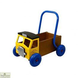 Wooden Truck Baby Walker