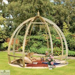 Pod Wooden Garden Pergola_1