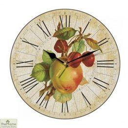 Apple & Cherries Wall Clock