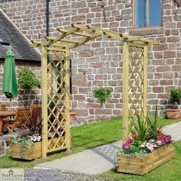 Pembridge Wooden Garden Arch_1