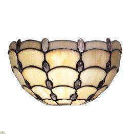 Tiffany Style Pearl Jewel Wall Light