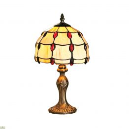 Ruby Jewel Table Lamp