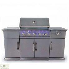 Bahama Stainless Steel 5 Burner BBQ