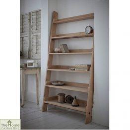 Large Oak Ladder Shelf_1
