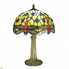 Blue Dragonfly Table Lamp