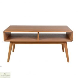 Casamoré Retro Style Oak Coffee Table
