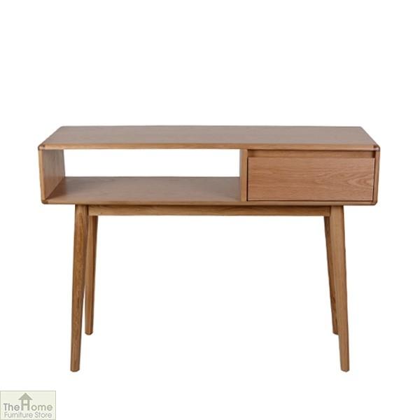 Delicieux Casamoré Retro Style Oak Console Table