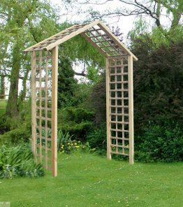 Atlas Wooden Garden Arch_1