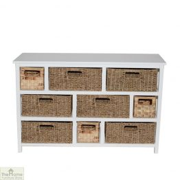 Camber Natural 9 Drawer Storage Chest