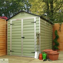 Green 3 x 6 Plastic Shed_1