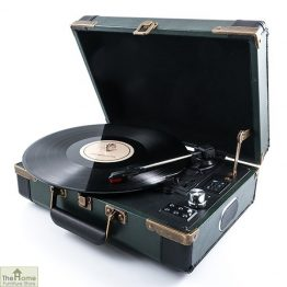 Portable Brief Case Record Player