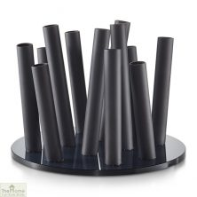 Black Bouquet Flower Vase