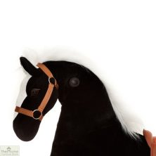 Ride On Horse Toy For Children Black
