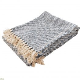 Herringbone Cotton Throw_1