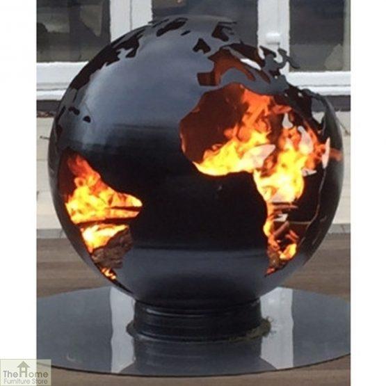 Black Earth Globe Fire Pit_1