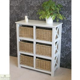 Gloucester Petite 6 Drawer Storage Unit_2