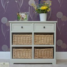 Gloucester 2 Drawer 4 Basket Storage Unit_1