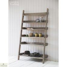 Aldsworth Wide Wooden Shelf Ladder