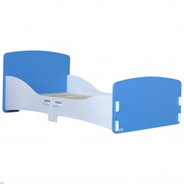 Junior Bed Frame Blue White_1