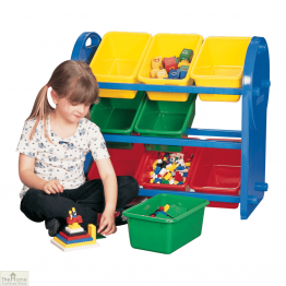 Childrens 9 Bin Storage Organiser