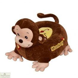 Plush Monkey Riding Chair