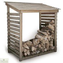 Aldsworth Wooden Log Store Shelter